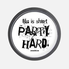 Life Is Short... Wall Clock