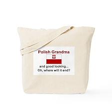 Good Looking Polish Grandma Tote Bag