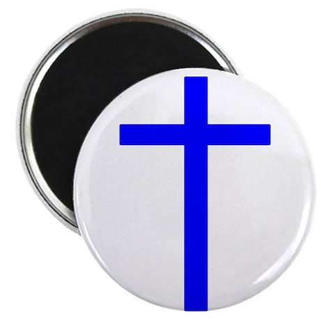"""Blue Cross 2.25"""" Magnet (10 pack)"""