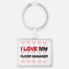 FLOOR-MANAGER8 Landscape Keychain