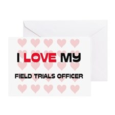 FIELD-TRIALS-OFFICER86 Greeting Card