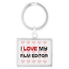 FILM-EDITOR109 Landscape Keychain