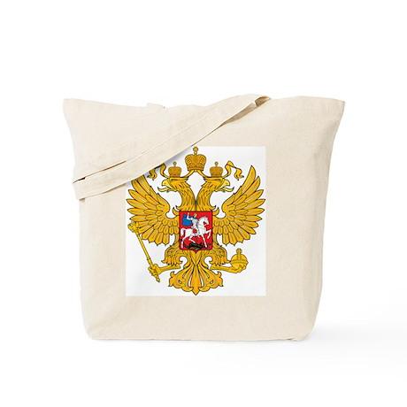 Russia Coat of Arms Tote Bag