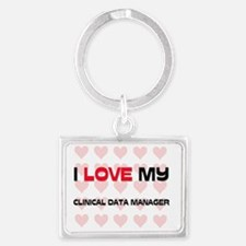 CLINICAL-DATA-MANAGE78 Landscape Keychain