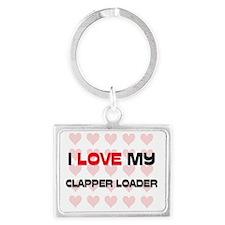 CLAPPER-LOADER33 Landscape Keychain