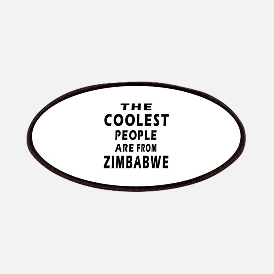 The Coolest Zimbabwe Design Patches