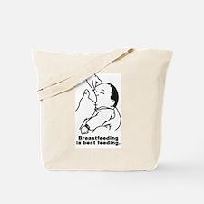 Breastfeeding is best feeding Tote Bag