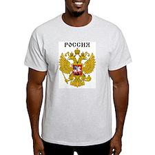 Rossiya / Russia Ash Grey T-Shirt