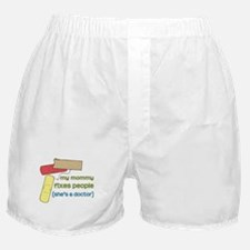 Mommy's a Doctor Boxer Shorts