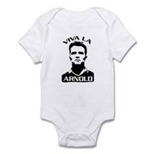 viVA La aRNoLD! Infant Bodysuit