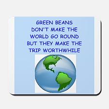 green beans Mousepad