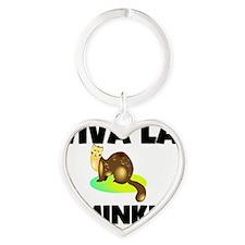 MINK126177 Heart Keychain