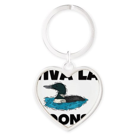 LOONS116193 Heart Keychain