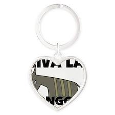 BONGOS141364 Heart Keychain