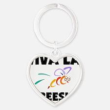 BEES536 Heart Keychain