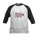 You Must Be a Wind Up Toy Kids Baseball Jersey