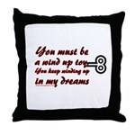 You Must Be a Wind Up Toy Throw Pillow
