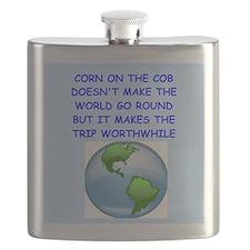 corn on the cob Flask