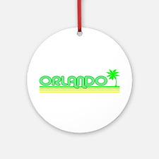 Orlando, Florida Ornament (Round)