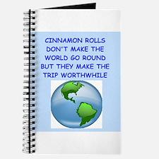 cinnamon rolls Journal