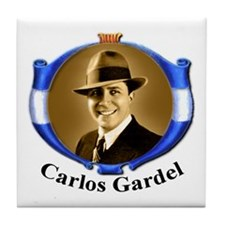 Cute Carlos Tile Coaster