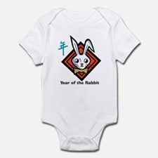Unique Year of the rabbit baby Onesie