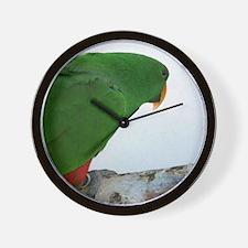 Eclectus series 4 Wall Clock