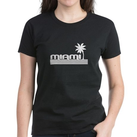 Miami, Florida Women's Dark T-Shirt