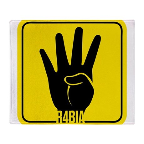 r4bia Throw Blanket