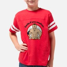 smileswallow Youth Football Shirt