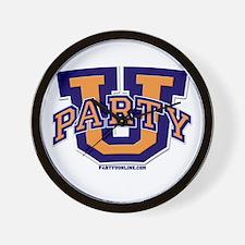 Party U - Classic Logo Wall Clock