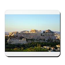 Acropolis view Mousepad