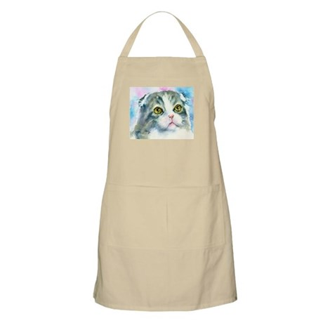 Scottish Fold BBQ Apron
