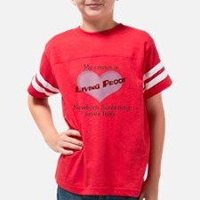 LP heart cousin 4-5-07 Youth Football Shirt