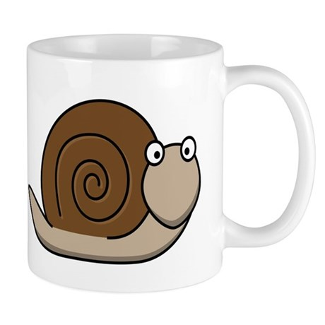 Cartoon Snail Small Mug