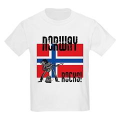 Norway Rocks Kids T-Shirt