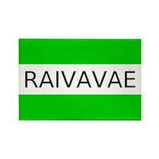 Raivavae Rectangle Magnet