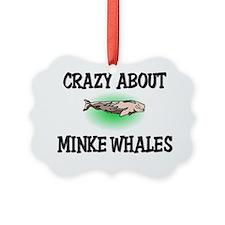 MINKE-WHALES135 Ornament