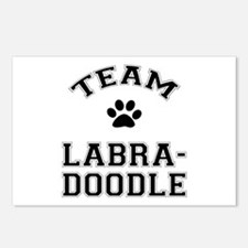 Team Labradoodle Postcards (Package of 8)