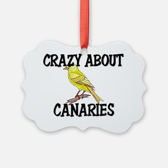CANARIES87207 Ornament