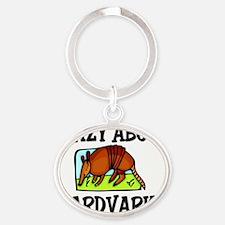 AARDVARKS63281 Oval Keychain