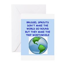 brussel sprouts Greeting Cards (Pk of 20)