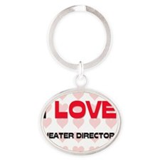THEATER-DIRECTORS117 Oval Keychain
