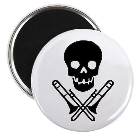 """skull & trombones 2.25"""" magnet (100 pack)"""