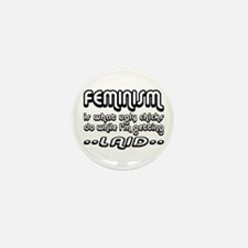 Feminism Mini Button (10 pack)
