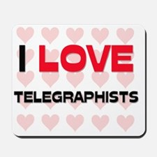TELEGRAPHISTS121 Mousepad
