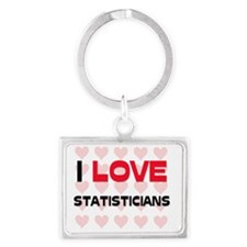 STATISTICIANS24 Landscape Keychain
