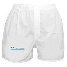 Ocala, Florida Boxer Shorts