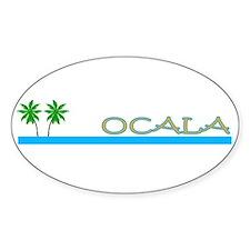 Ocala, Florida Oval Decal