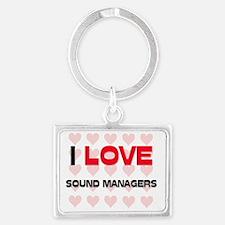 SOUND-MANAGERS100 Landscape Keychain